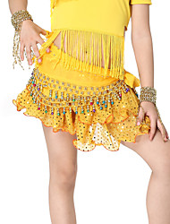 Dancewear Chiffon with Small Bells Belly Dance Belt For Children More Colors
