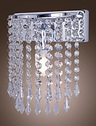 40W cristal perlé Comtemporary mur Lightwith1 Lumière