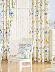 twopages® dos paneles paraguas moderna impresión niños cortina