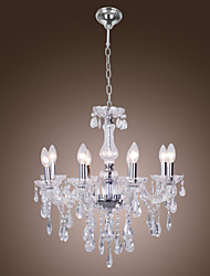 Moddern Crystal Chandelier with 8 Lights