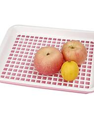 Double Layer Drainer Fruit Tray Halter (verschiedene Farben)