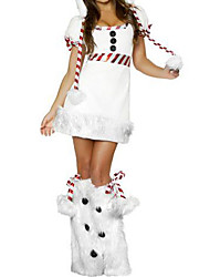 Fancy Dress Cute Snow Woman Costume (3 Pieces)