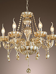 Crystal Chandeliers , Traditional/Classic Living Room Glass
