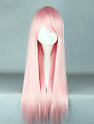 Lolita Wigs Sweet Lolita Lolita Long Pink Lolita Wig 70 CM Cosplay Wigs Solid Wig For Women
