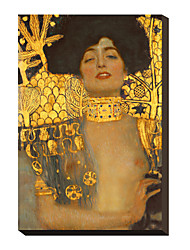 Judith I., 1901 by Gustav Klimt Famous Stretched Canvas Print