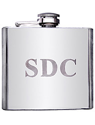 Gift Groomsman Personalized Stainless Steel 5-oz Flask
