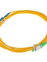 Câble de fibre optique, FCAPC / SCSM, mode unique - 3 mètres