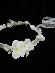 Women's Lace/Imitation Pearl Headpiece - Special Occasion Headbands