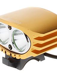 Luces para bicicleta , Luces Frontales / Luces para bicicleta - 3 Modo 2000 Lumens Recargable 18650 x 4 Batería Ciclismo/Bicicleta