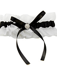 Garter Satin Bowknot Multi-color