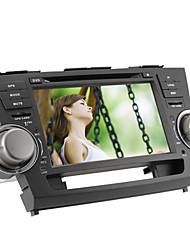 Pulgadas de coches reproductor de DVD para Toyota Highlander 8 (GPS, iPod, bluetooth, RDS)
