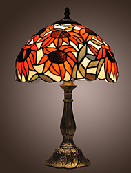 Tiffany-style Sunflowers Bronze Finish Table Lamp(0923-TF3)