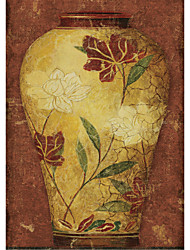 Printed Art Still Life Asian Vases I by Sparx Studio