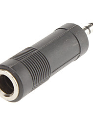 6.35mm to 3.5mm Audio F/M Adapter