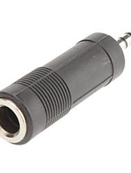 6,35 mm auf 3,5 mm Audio-f / m Adapter