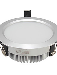 15W Modern LED Luz de teto com luzes 5730 SMD no corpo Prata
