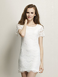 Women's Lace / Cute Dress Above Knee Lace