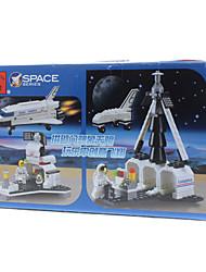 Erleuchten 3D DIY Space Shuttle Puzzle Spielzeug (125pcs)
