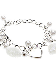 Women's Love Pearl Glaze Bracelet Christmas Gifts