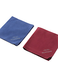 Microfiber cleaning cloth(Red/Blue