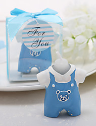 Cute Overalls Candle Favor
