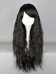 Lolita Wigs Classic/Traditional Lolita Lolita Long Black Lolita Wig 70 CM Cosplay Wigs Solid Wig For Women