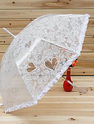 Hollow Heart Lace Sweet Lolita Umbrella