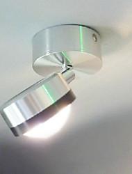 1 LED Intégré Moderne/Contemporain Plaqué Fonctionnalité for LED Style mini Ampoule incluse,Eclairage d'ambiance Applique murale