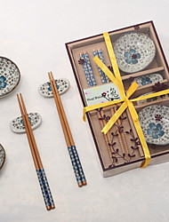 Pretty Sakura Tableware Set In Gift Box (More Colors)