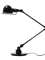 Modern Stylish Table Light Swing Arm Painted Black