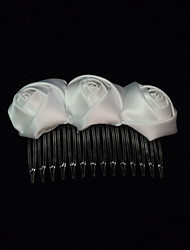 Women's Satin Headpiece-Special Occasion Hair Combs