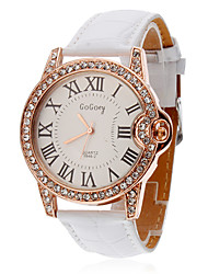 Women's Watch Diamante Roman Numerals Dial