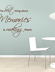 The Best Thing about Memories is Making Them Wall Sticker