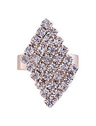 Fashion Kristall-Diamant-Ring einstellbar