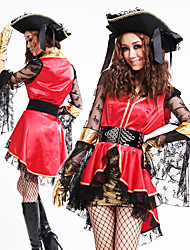 Pirate Princess-Rouge et du costume de Black Organza femmes