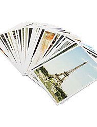 Estilo Embalado Postal Europea Picture (32 PCS)