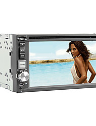 6.2-inch 2 Din TFT Screen In-Dash Car DVD Player With Bluetooth,Navigation-Read GPS,iPod-Input,DVB-T,RDS