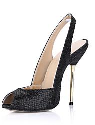 Fashion sprankelende glitter naaldhak pompen feest / avond schoenen