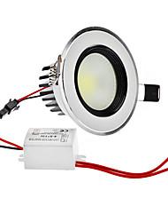 Диммирования 1-5W 400LM 5800-6300K Белый естественный свет COB светодиодные потолочные лампы (220)