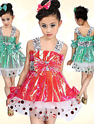 Ballet Dresses Children's Plastic Bow(s) / Sequins Natural