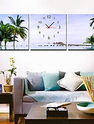 moderno soggiorno orologio da parete in stile tela 3pcs