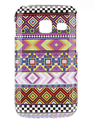 Woven Grain IMD Hard Case for Samsung Galaxy Y Duos S6102