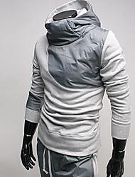 Männer Kontrastfarbe Hoodie