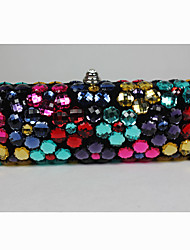Colorful Sequin Handmade Clutch