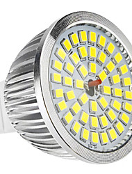 MR16 6W 48x2835SMD 580-650lm 5800-6500K Natural White LED Bulb Pontual (12V)