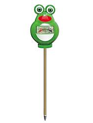 Cartoon Cute Frog Style Soil Hygrometer