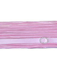 Colormoon Klassische Satin Clutch Bag Falte