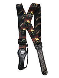 Soldier - (Bloody Skull) Oxhide Strap for Guitar/Bass