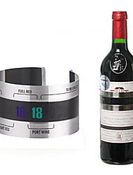 Creative Stainless Steel Red Wine Bracelet Thermometer Temperature For Beer Home Bar Tools