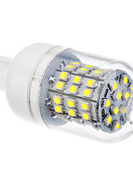 DAIWL G9 3.5W 60xSMD3528 300-320LM 6000-6500K Natural White Light LED Corn Bulb (110/220V)